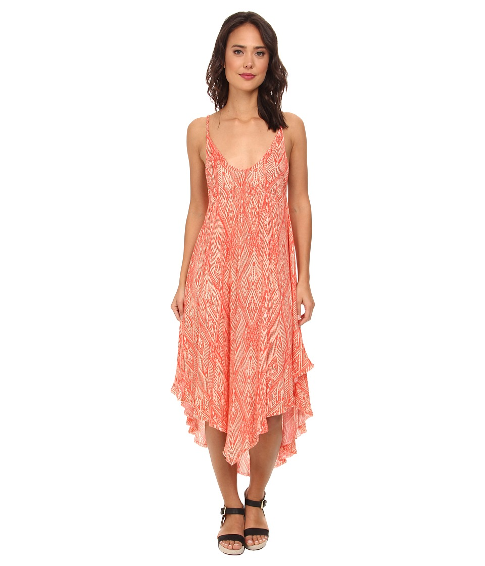 Free People - Knot For Your Slip Dress (Clementine) Women's Dress