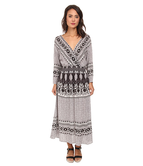 Free People - She's A Lady Dress (Ivory Combo) Women's Dress