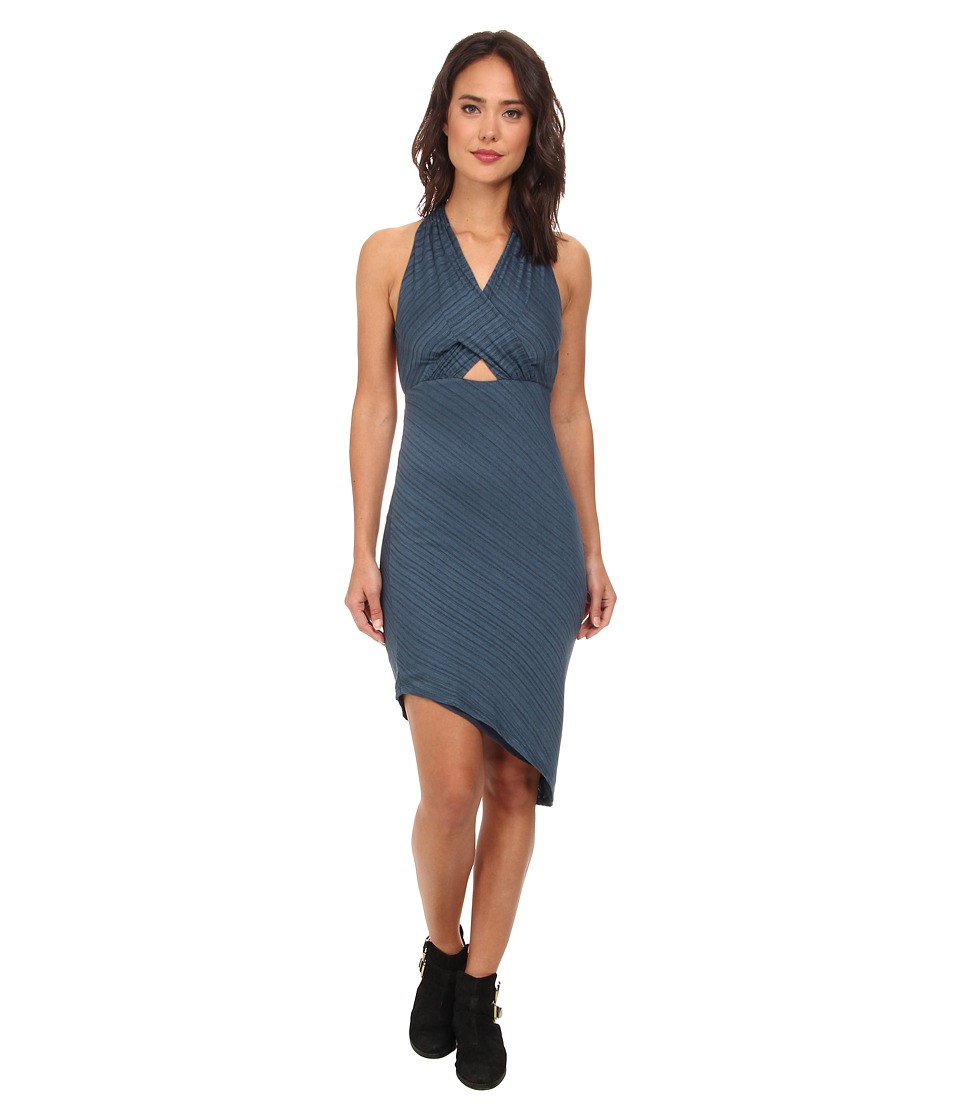 Free People - Temptress Bodycon (Deep Navy) Women's Dress