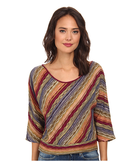Free People - Rainforest Pullover (Rainbow Combo) Women's Long Sleeve Pullover