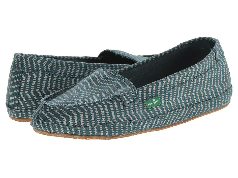 Sanuk - Izabella (Mallard) Women's Slip on Shoes