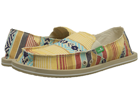 Sanuk - Donna (Dusty Yellow/Multi) Women