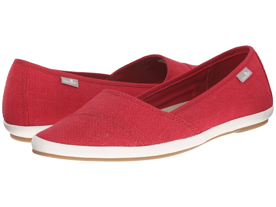 Sanuk Kat Prowl (Red) Women
