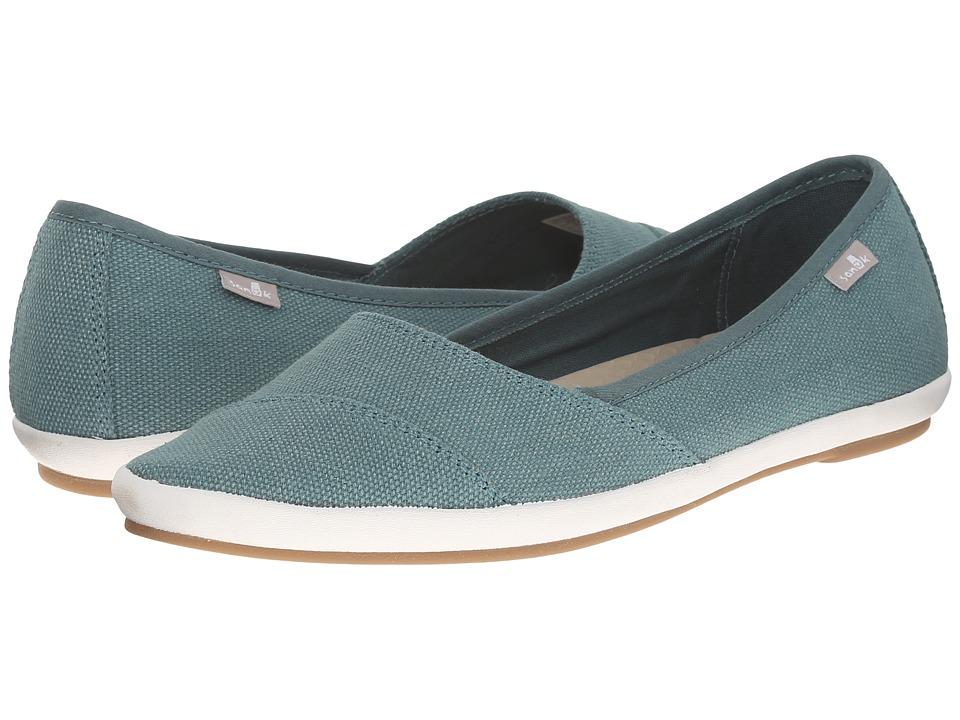 Sanuk - Kat Prowl (Mallard) Women's Slip on Shoes