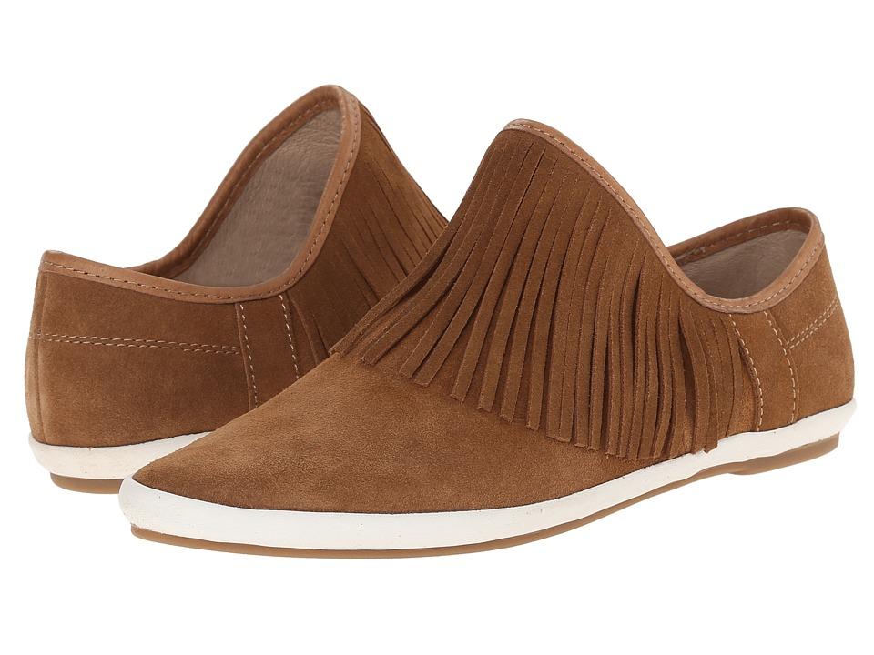Sanuk - Kat Fringe (Chestnut) Women's Slip on Shoes