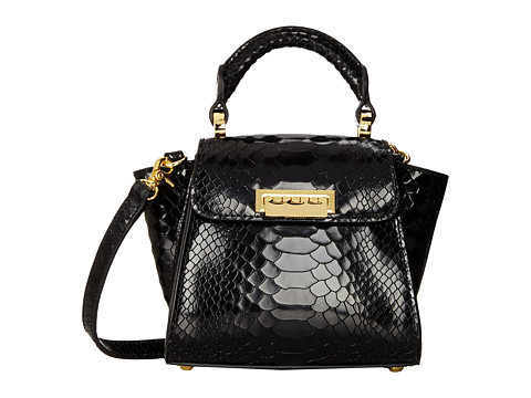 ZAC Zac Posen - Eartha Top Handle Mini (Black) Top-handle Handbags