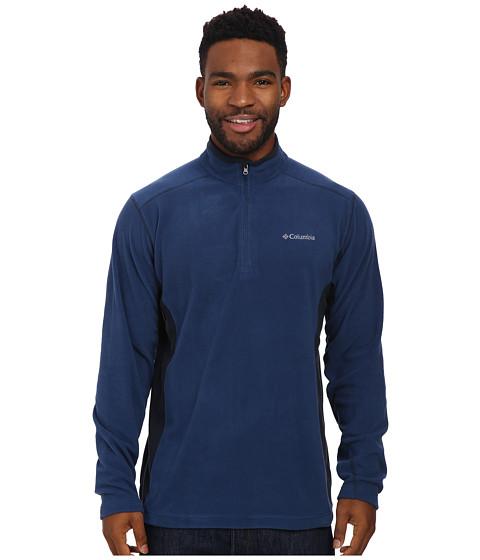 Columbia - Klamath Range II Half Zip (Carbon/Abyss) Men's Coat