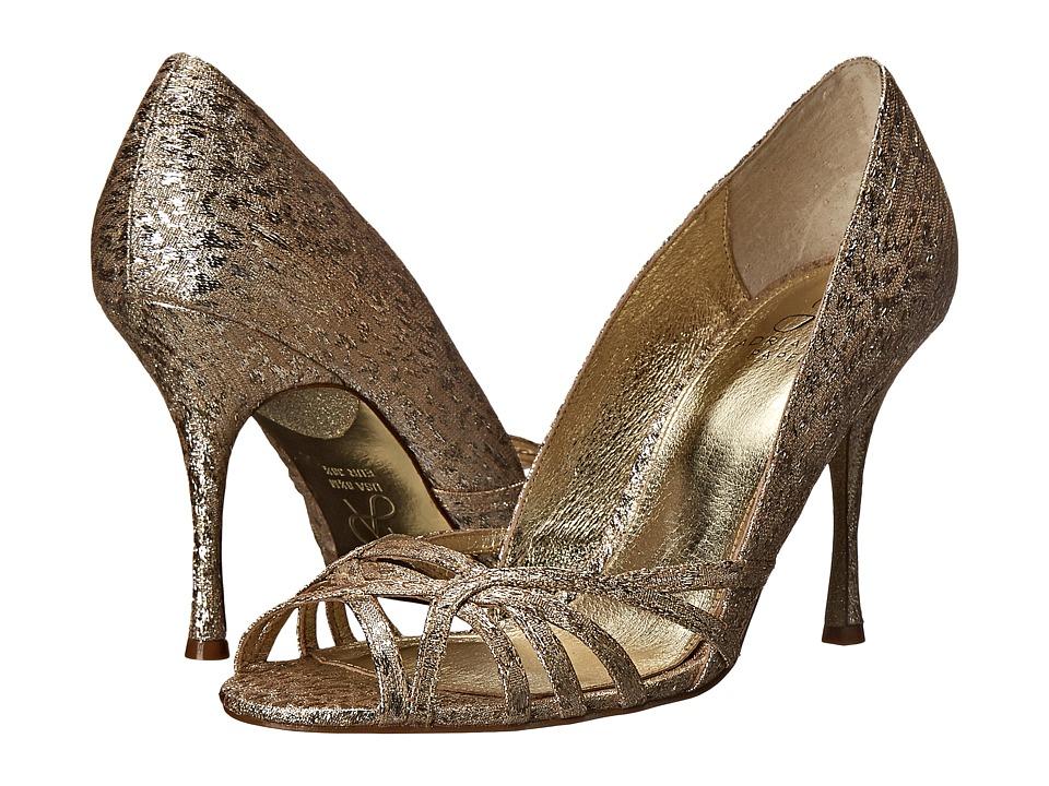 Adrianna Papell - Fallon (Platino Foil Sleek) High Heels