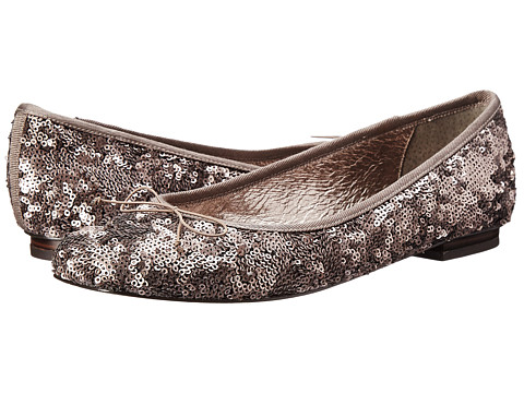 Adrianna Papell - Zoe-FB (Gunmetal Geo Sequin) Women's Flat Shoes