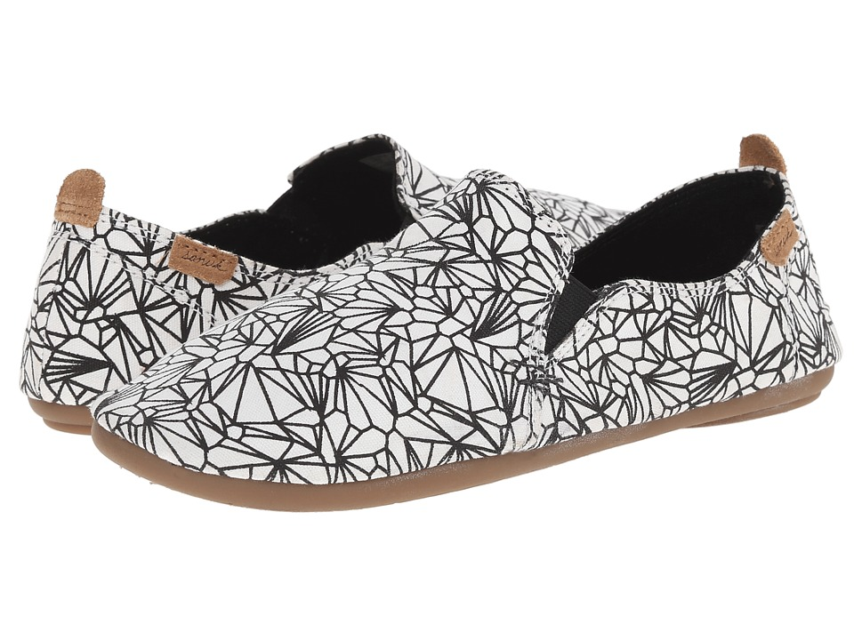 Sanuk Isabel Prints (White/Black) Women