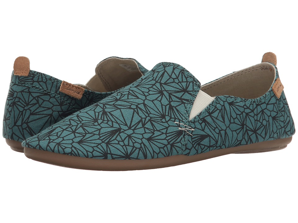 Sanuk - Isabel Prints (Mallard) Women