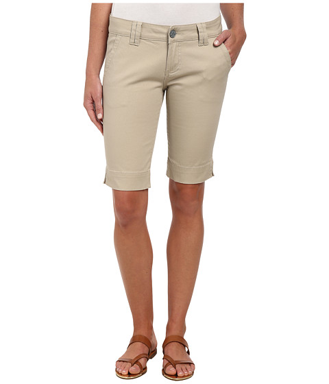 KUT from the Kloth - Milla Bermuda Shorts (Khaki) Women's Shorts