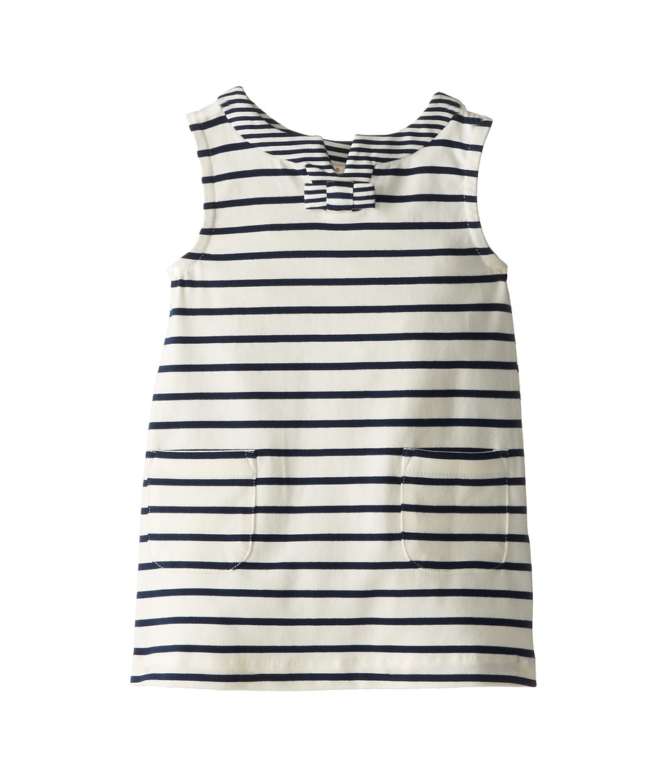 Kate Spade New York Kids - Tropez Dress (Toddler/Little Kids) (Fresh White/Navy) Girl's Dress