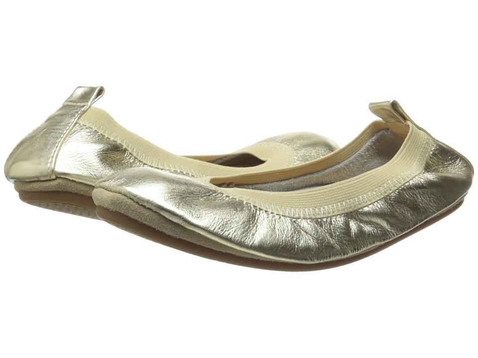 Yosi Samra Kids - Sammie Super Soft Ballet Flat (Toddler/Little Kid/Big Kid) (Gold Metallic Leather) Girls Shoes