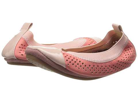 Yosi Samra Kids - Scarlet Super Soft Ballet Flat (Toddler/Little Kid/Big Kid) (Sugar Melon/Powder Pink Leather) Girls Shoes
