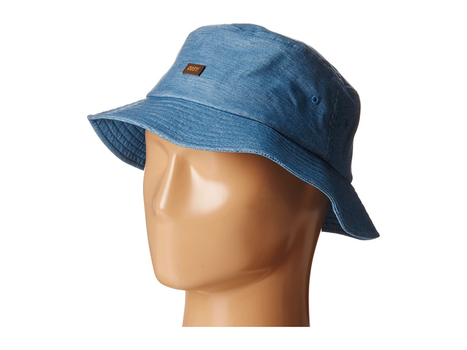 Obey - Grandeur Bucket Hat (Blue) Bucket Caps