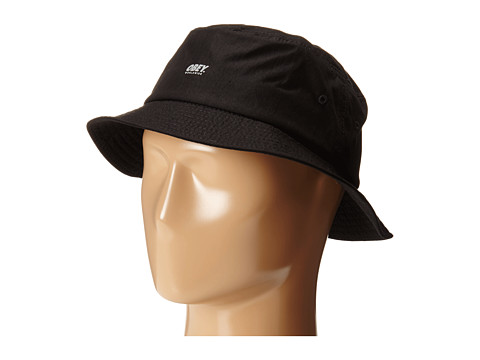Obey - Traverse Bucket Hat (Black) Bucket Caps
