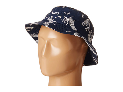 Obey - Death Touch Bucket Hat (Blue Multi) Bucket Caps