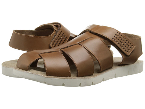 Dune London - Fishing Boat (Brown Leather 2) Men's Sandals