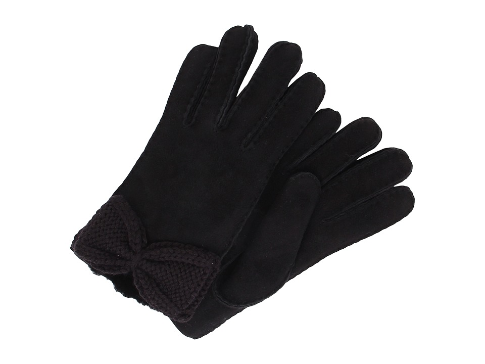 UGG - Bailey Knit Bow Glove (Black Multi) Extreme Cold Weather Gloves