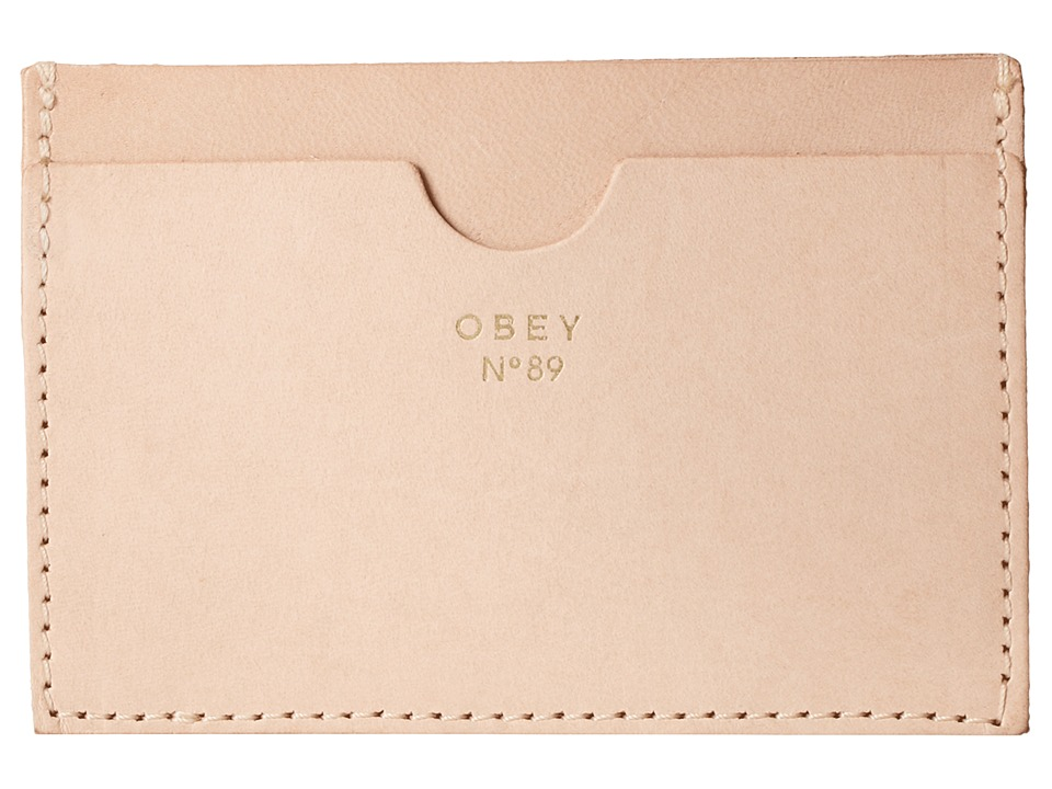 Obey - Newbury Card Case (Blush) Credit card Wallet