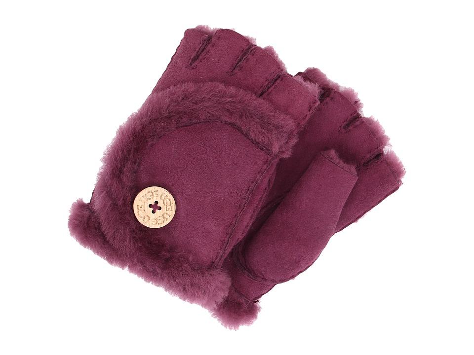 UGG - Mini Bailey Fingerless Glove (Aster) Dress Gloves