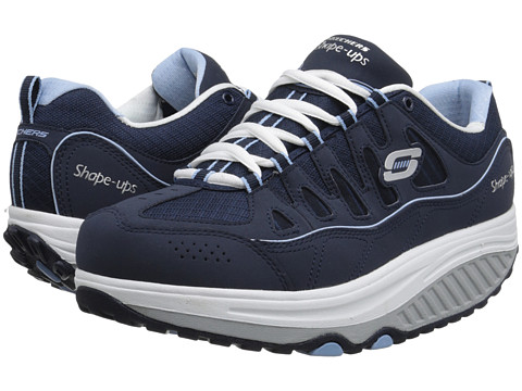 SKECHERS - Shape Ups 2.0 - Comfort Stride (Navy Blue) Women's Shoes