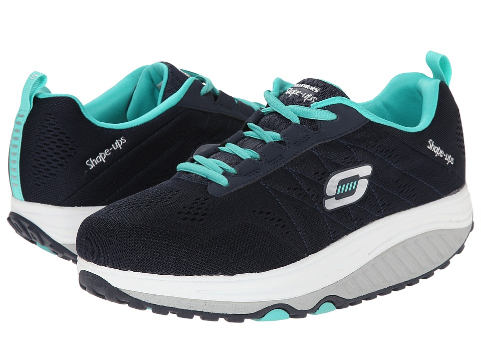 SKECHERS - Shape Ups 2.0 (Navy) Women's Shoes