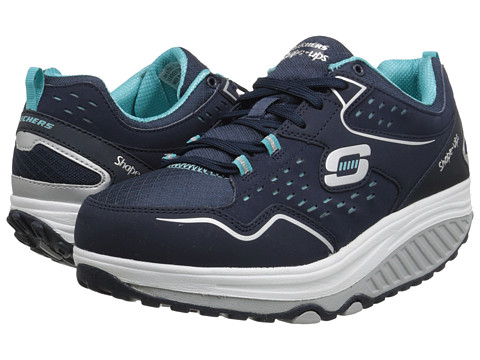 SKECHERS - Shape Ups 2.0 - Everyday Comfort (Navy Blue) Women's Shoes