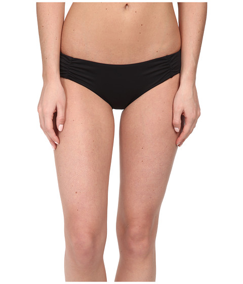 Roxy - Cheeky Scooter Swim Bottoms (True Black) Women's Swimwear