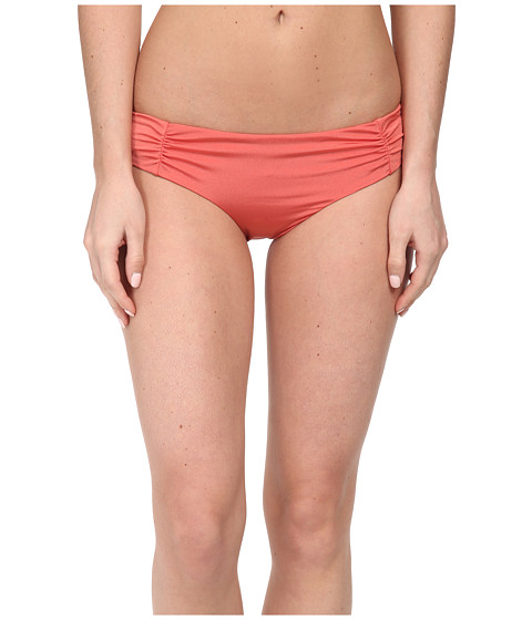 Roxy - Cheeky Scooter Swim Bottoms (Dusty Rose) Women's Swimwear