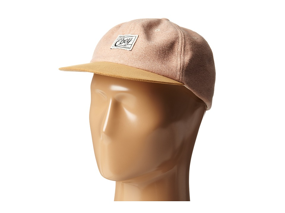 Obey - Danbury Throwback (Blush) Caps