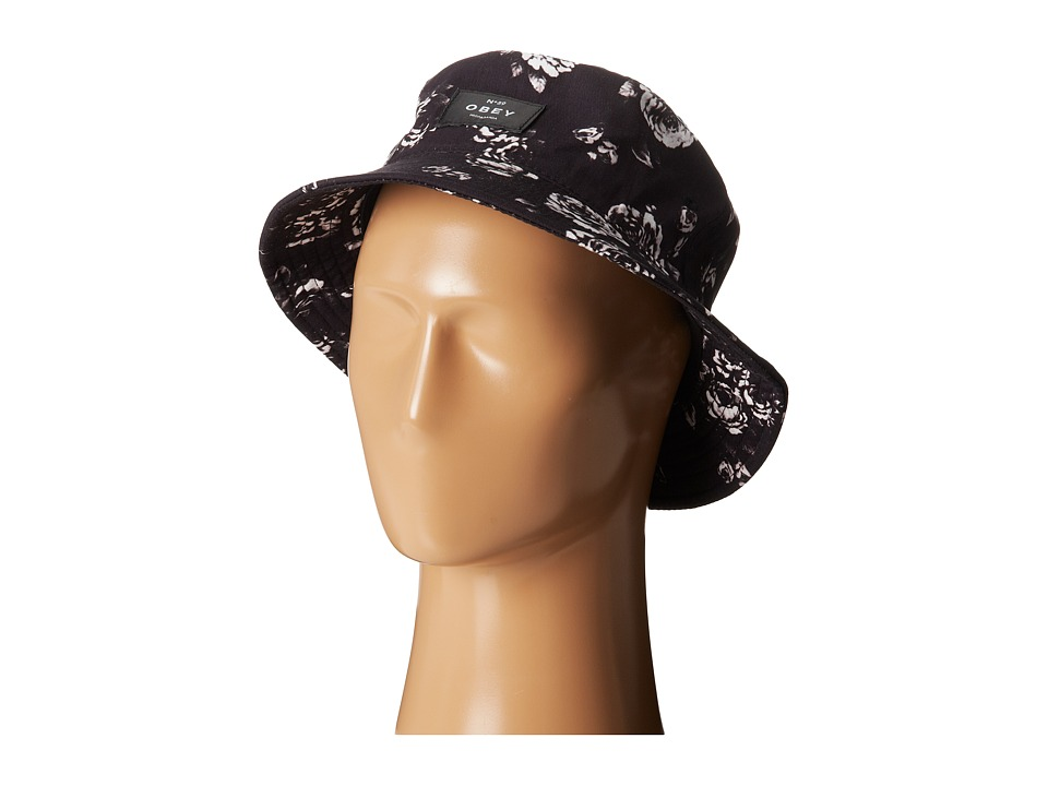 Obey - Rosecrans Bucket Hat (Black Multi) Bucket Caps