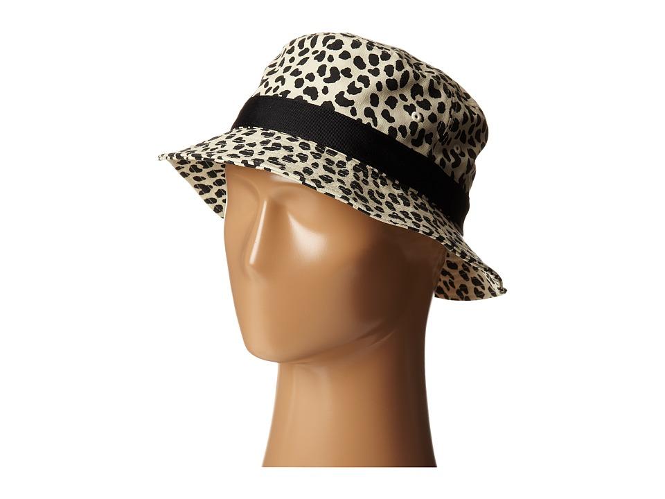 Obey - Mallory Bucket Hat (Leopard) Bucket Caps