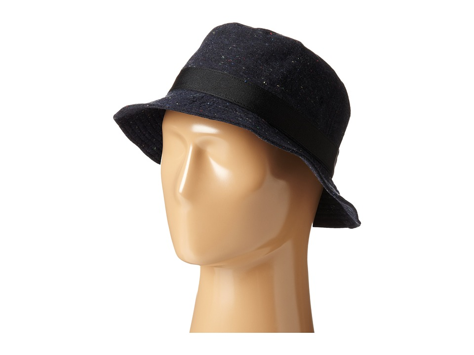 Obey - Bercon Bucket Hat (Navy) Bucket Caps