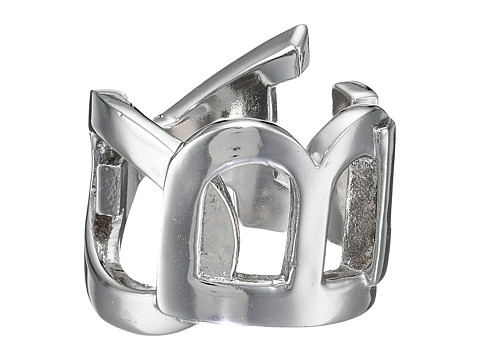 Obey - Cipher Ring (White Gold) Ring