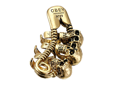 Obey - Nias Ear Cuff Earrings (Gold) Earring