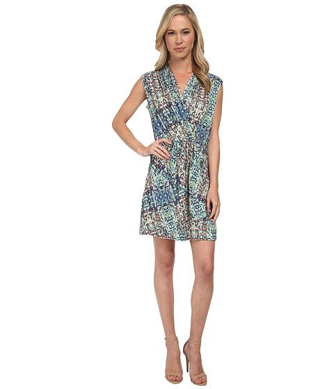 NIC+ZOE - Petite Urban Safari Dress (Multi) Women's Dress