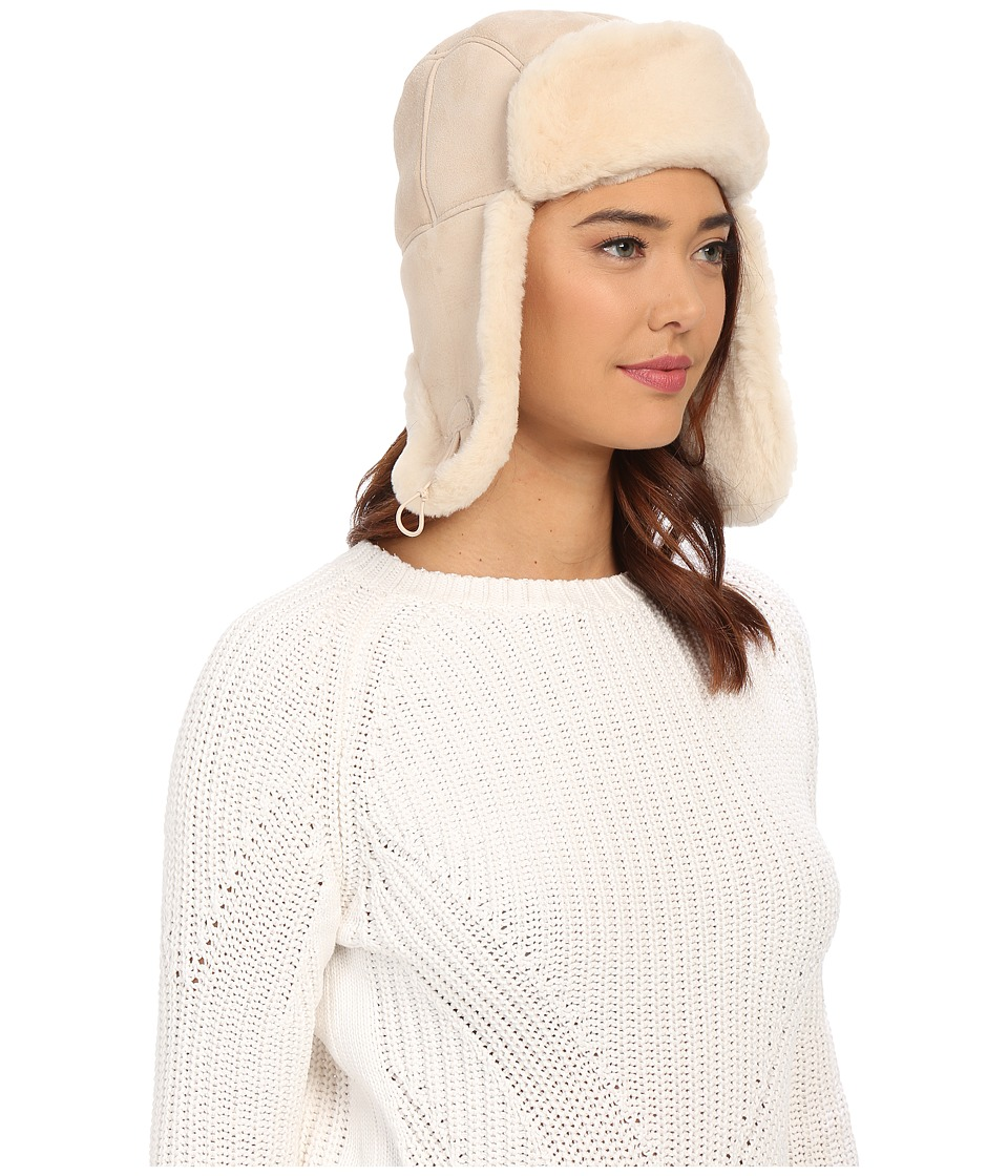 UGG - Sheepskin Bailey Trapper (Fresh Snow) Traditional Hats