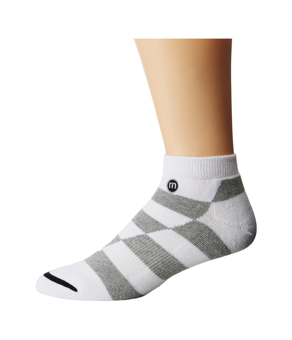 TravisMathew - Duncan Socks (White) Men's Low Cut Socks Shoes