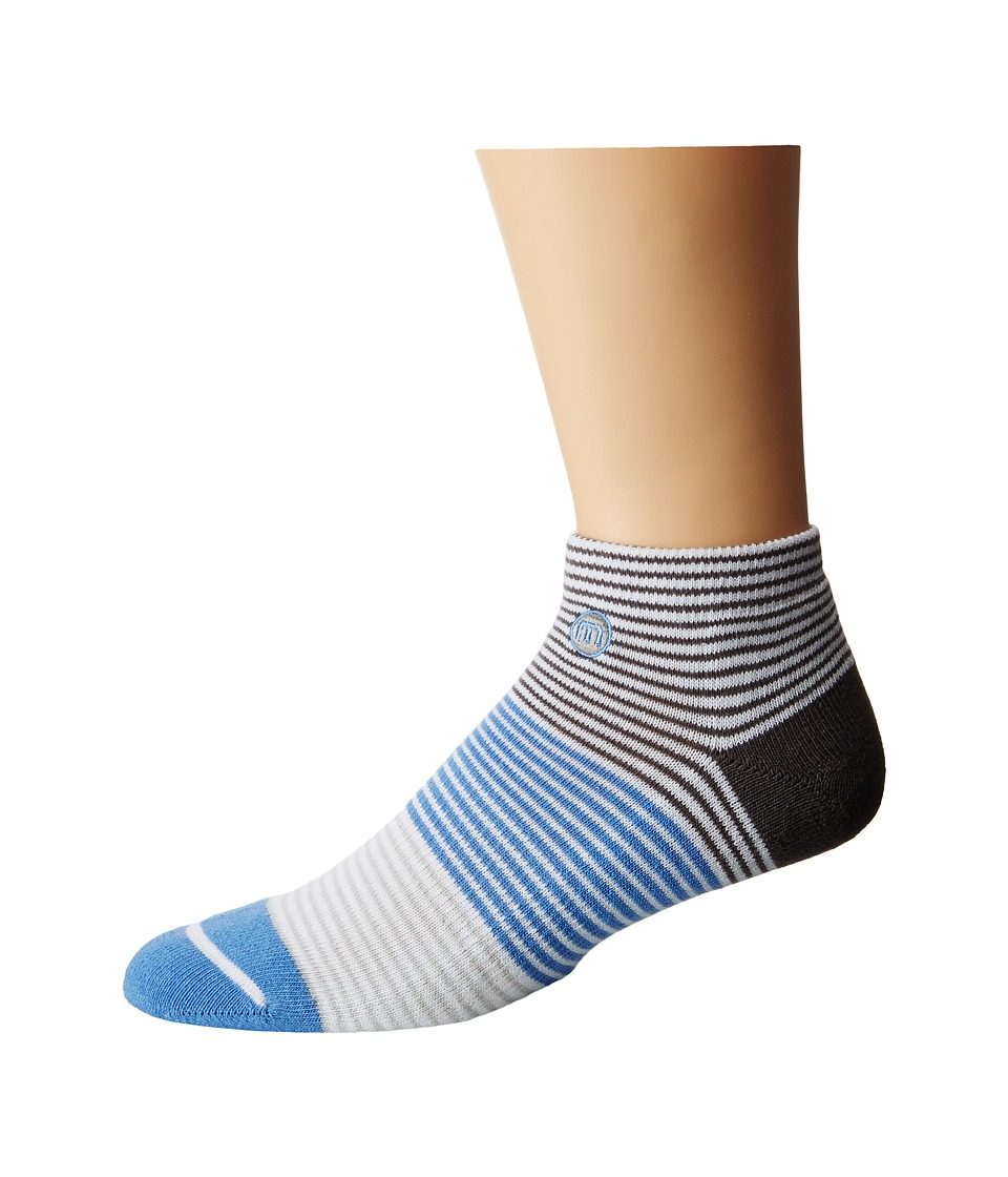 TravisMathew - This Guy Socks (White) Men's Low Cut Socks Shoes