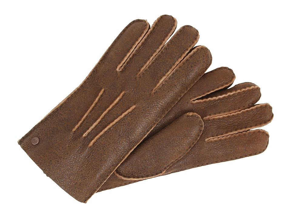 UGG - Glove w/ Gauge Points (Bomber Chestnut) Dress Gloves