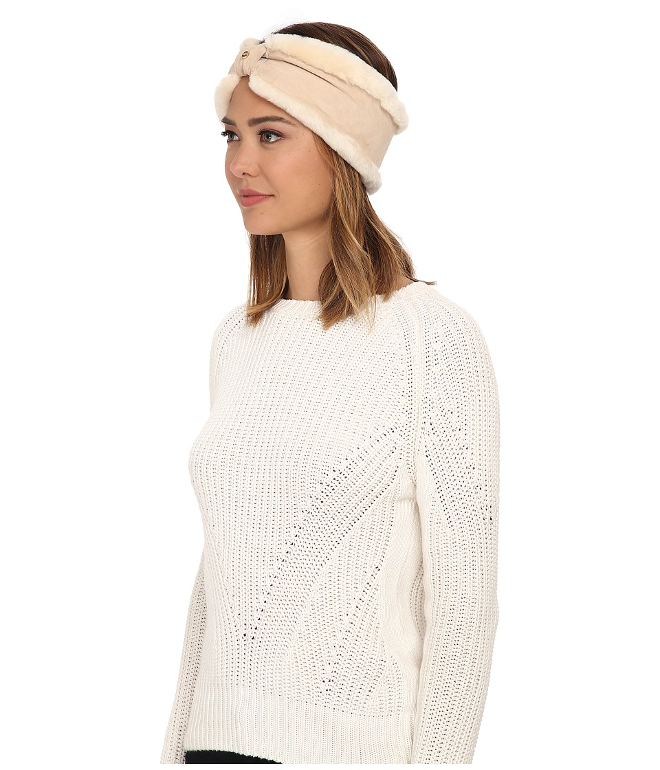 UGG - Carter Headband (Fresh Snow) Traditional Hats