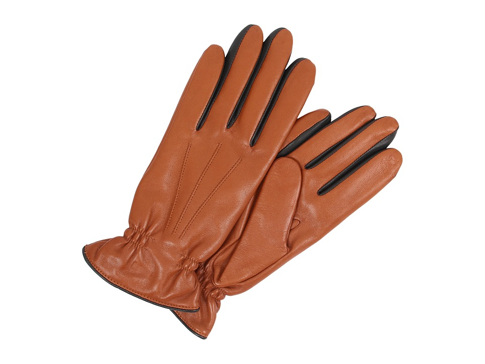 UGG - Joey Two Tone Glove (Chestnut Multi) Extreme Cold Weather Gloves