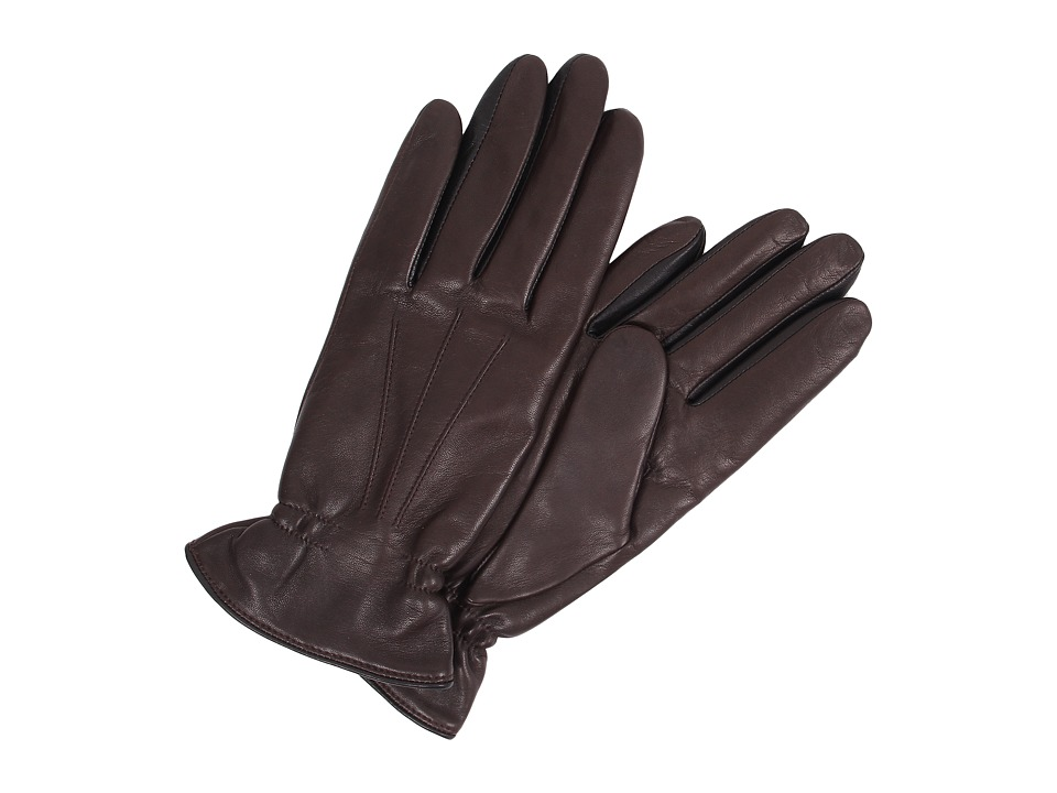 UGG - Joey Two Tone Glove (Brown Multi) Extreme Cold Weather Gloves