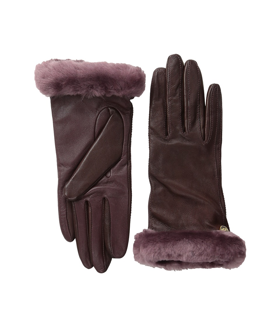 UGG - Classic Leather Smart Glove (Emillion) Dress Gloves