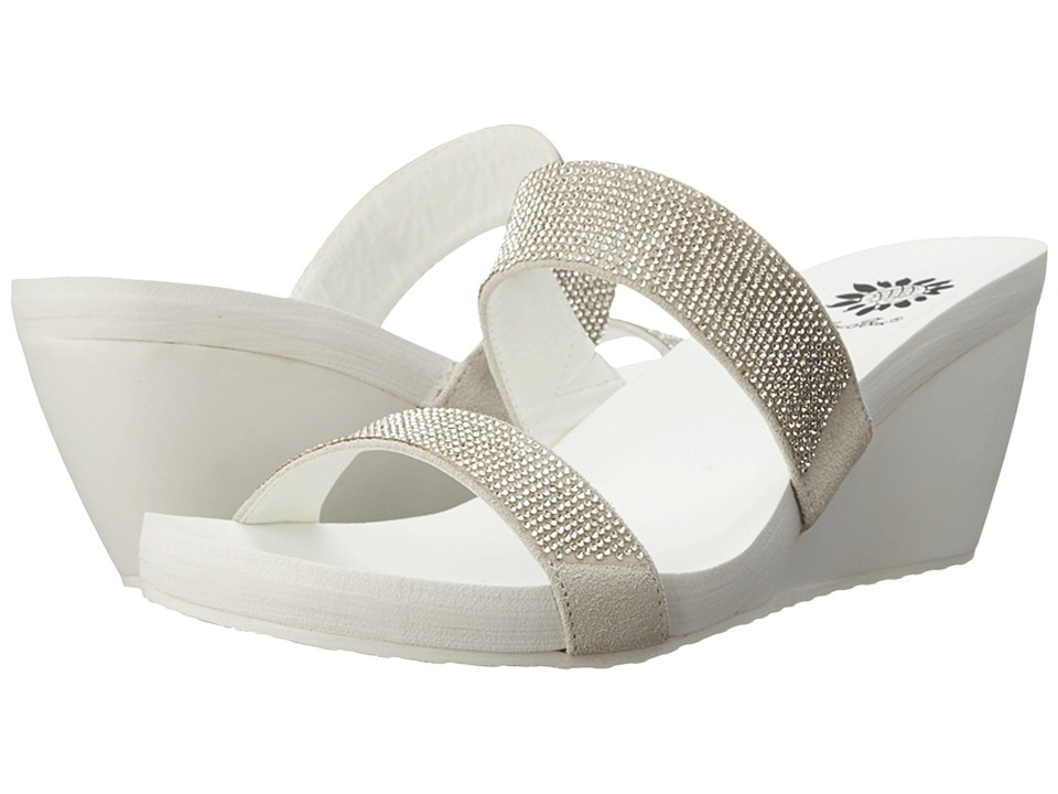 Yellow Box - Mayda (White) Women's Sandals