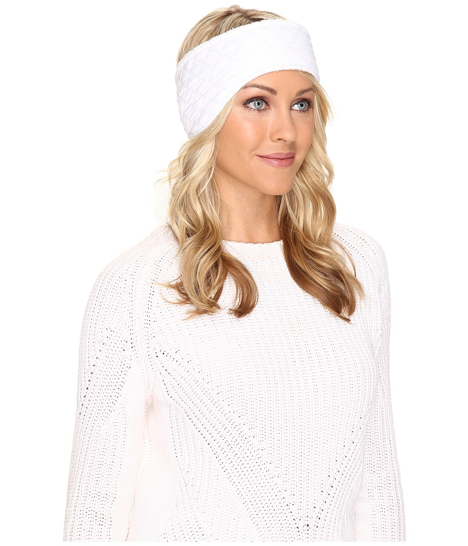 UGG - Quilted Fabric Headband (White Multi) Traditional Hats