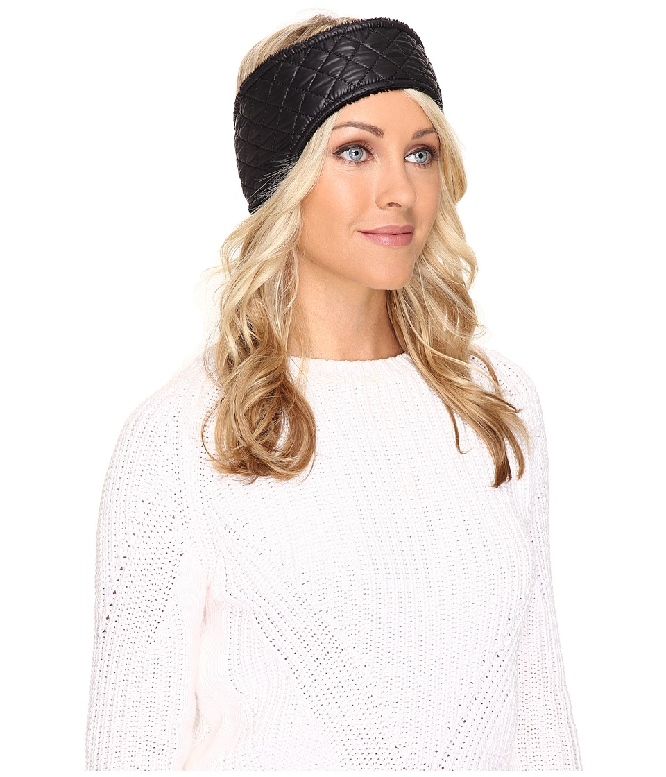 UGG - Quilted Fabric Headband (Black Multi) Traditional Hats