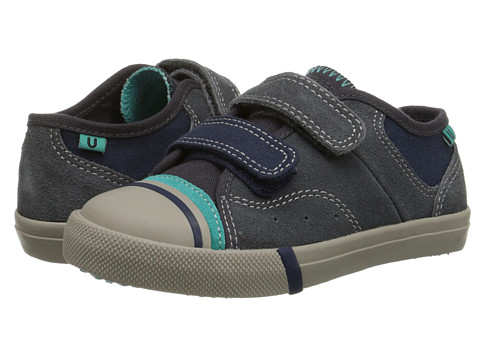 Umi Kids - Cruz B (Toddler/Little Kid/Big Kid) (Dark Gray) Boy's Shoes